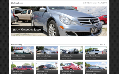 New Website for Jurobs Used Cars